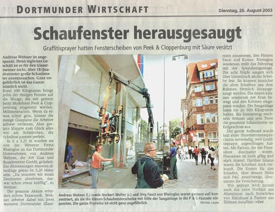 Schaufenster Peek Cloppenburg